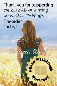 2012 Amazon Breakthrough Novel Finalist Regina Sirois Needs your Vote in the ABNA contest. Vote for On Little Wings by May 30th